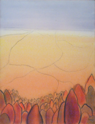 """Landscape"" (1977) by Catharine McAvity"